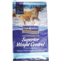 Trockenfutter Fish4Dogs Superior Weight Control Small