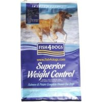 Trockenfutter Fish4Dogs Superior Weight Control