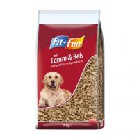 Trockenfutter fit+fun Lamm & Reis