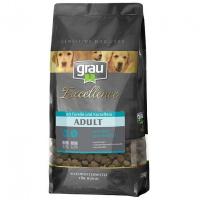 Trockenfutter Grau Excellence ADULT Getreidefrei mit Forelle und Kartoffeln