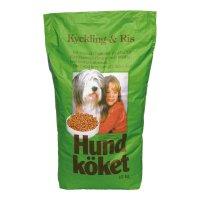Trockenfutter Hundköket Geflügel und Reis