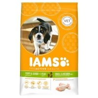 Trockenfutter IAMS Proactive Health Small & Medium Breeds Puppy & Junior