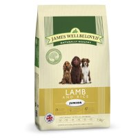Trockenfutter James Wellbeloved Junior Lamb and Rice