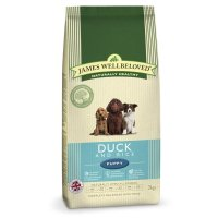 Trockenfutter James Wellbeloved Puppy Duck and Rice
