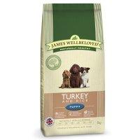 Trockenfutter James Wellbeloved Puppy Truthahn & Reis