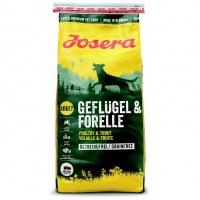 Trockenfutter Josera Geflügel & Forelle