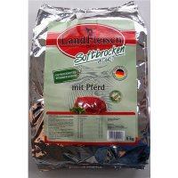 Trockenfutter LandFleisch Softbrocken mit Pferd