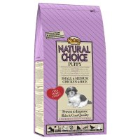 Trockenfutter NUTRO Natural Choice Puppy Small & Medium Chicken & Rice