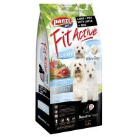Trockenfutter Panzi FitActive White Dogs Adult Lamb + Fish