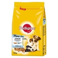 Trockenfutter Pedigree Vital Protection Junior Mini mit Huhn und Reis