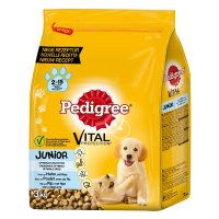Trockenfutter Pedigree Vital Protection Junior mit Huhn und Reis