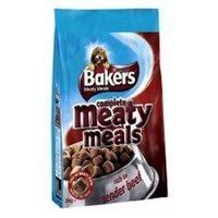 Trockenfutter Purina Bakers Meaty Meals Adult Beef