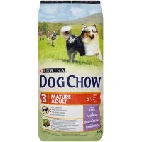 Trockenfutter Purina Dog Chow Mature Adult 5 + Lamb