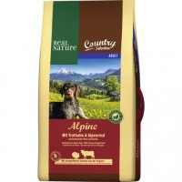 Trockenfutter Real Nature Country Selection Adult Alpine mit Truthahn & Alpenrind