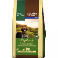 Trockenfutter Real Nature Country Selection Adult Highland mit Hochland-Lamm & Ente