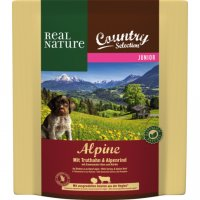 Trockenfutter Real Nature Country Selection Junior Alpine mit Truthahn & Alpenrind