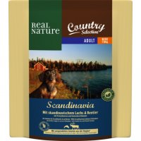 Trockenfutter Real Nature Country Selection Scandinavia Mini mit skandinavischem Lachs & Rentier