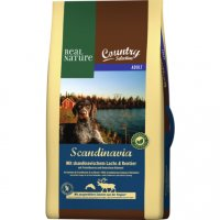 Trockenfutter Real Nature Country Selection Scandinavia mit skandinavischem Lachs & Rentier