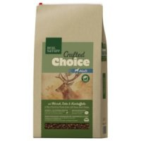 Trockenfutter Real Nature Crafted Choice Hirsch, Ente & Kartoffel gebacken