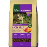 Trockenfutter Real Nature Wilderness Mini Rocky Hills Rind & Ziege
