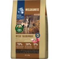 Trockenfutter Real Nature Wilderness Wide Savannah Adult Wildschwein mit Lamm & Ente