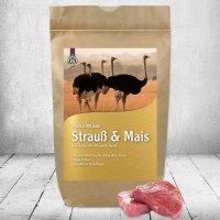 Trockenfutter Schecker DOGREFORM Strauß & Mais