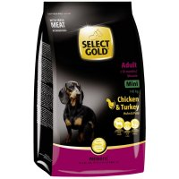Trockenfutter Select Gold Adult Mini Huhn & Pute