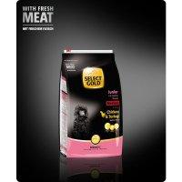 Trockenfutter Select Gold Junior Medium Huhn & Truthahn