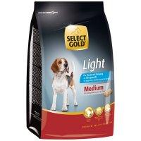 Trockenfutter Select Gold Light Medium