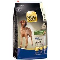 Trockenfutter Select Gold Sensitive Adult Maxi Ente & Kartoffeln