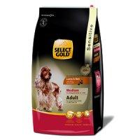 Trockenfutter Select Gold Sensitive Adult Medium Lamm & Reis
