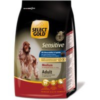 Trockenfutter Select Gold Sensitive Adult Medium Wasserbüffel & Tapioka