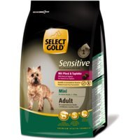 Trockenfutter Select Gold Sensitive Adult Mini Pferd & Tapioka