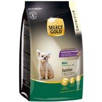 Trockenfutter Select Gold Sensitive Junior Mini Lamm, Lachs & Kartoffeln