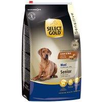 Trockenfutter Select Gold Sensitive Senior Maxi Lamm & Reis