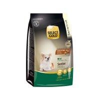 Trockenfutter Select Gold Sensitive Senior Mini Lamm & Reis