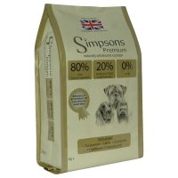 Trockenfutter Simpsons Premium 80/20 Fish