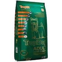 Trockenfutter TropiDog Super Premium Adult Small Breeds - Lamb, Salmon & Rice