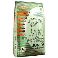 Trockenfutter TropiDog Super Premium Junior Small Breeds - Lamb, Salmon & Eggs