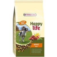 Trockenfutter Versele-Laga Happy Life Adult Beef