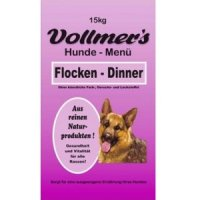 Trockenfutter Vollmers Flocken Dinner