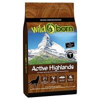 Trockenfutter Wildborn Active Highlands