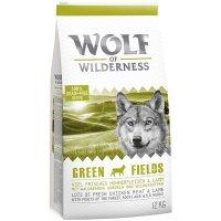 Trockenfutter Wolf of Wilderness Green Fields - Lamm