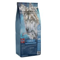 Trockenfutter Wolfs Nature Junior Lachs aus Norwegen