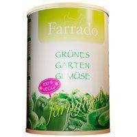 Zusatzfutter Farrado Grünes Gartengemüse erntefrisch