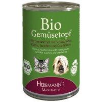 Nassfutter Herrmanns Bio-Gemüsetopf