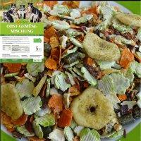 Zusatzfutter LuCano Obst-Gemüse Mischung