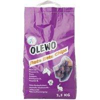 Zusatzfutter Olewo Rote Bete Chips