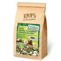 Zusatzfutter Original-Leckerlies Weiße Amaranth-Gemüseflocken