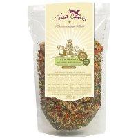 Zusatzfutter Terra Canis Gartenmix, luftgetrock. Gemüse-Obst-Mischung